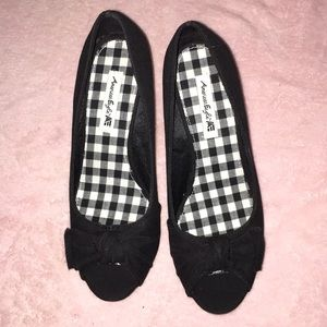 American Eagle wedges 7-1/2 excellent condition